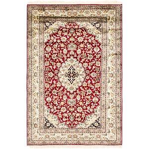 HandKnotted 4' 2 x 6' 6 Kashmir Oriental Rug