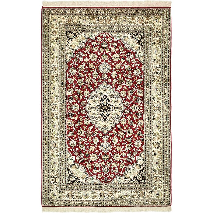 4' 2 x 6' 6 Kashmir Oriental Rug