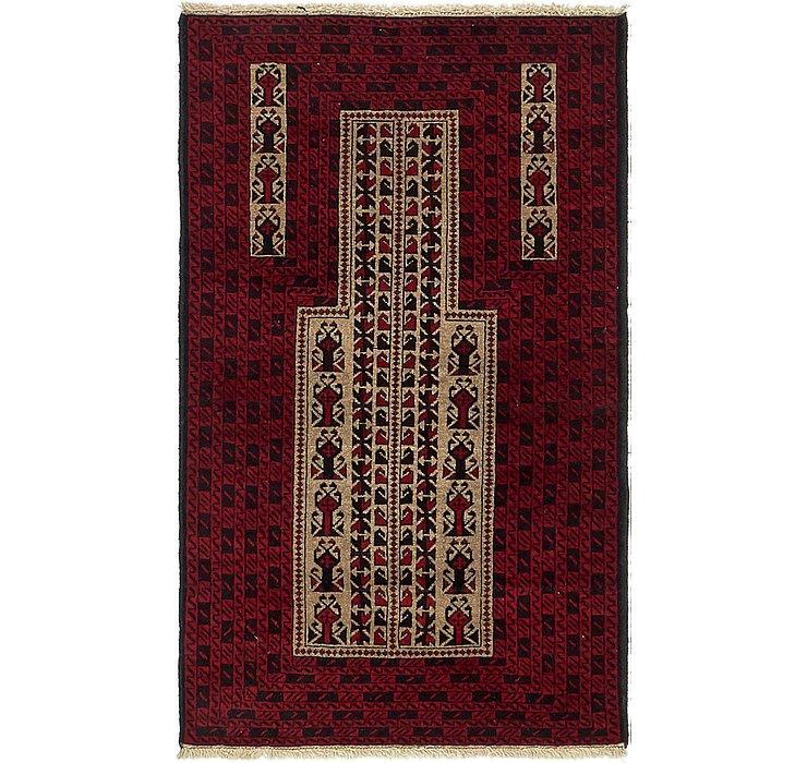 2' 9 x 4' 9 Balouch Persian Rug