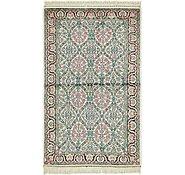 Link to 3' x 5' 4 Kashmir Oriental Rug