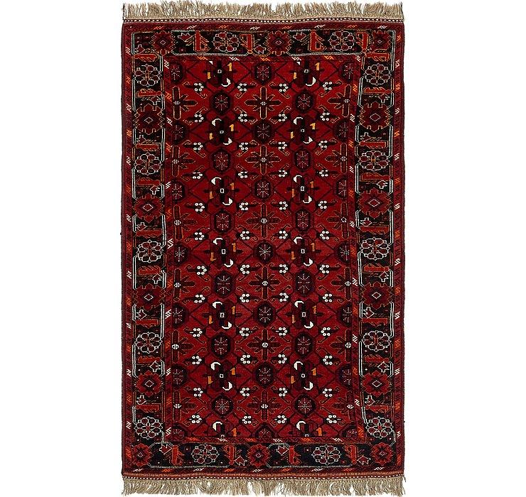 3' 9 x 6' 8 Afghan Ersari Rug