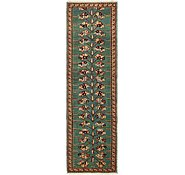 Link to 3' x 11' 3 Heriz Persian Runner Rug