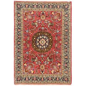 3' 7 x 5' 3 Sarough Persian Rug