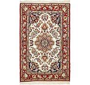 Link to 3' 3 x 5' 3 Qom Persian Rug