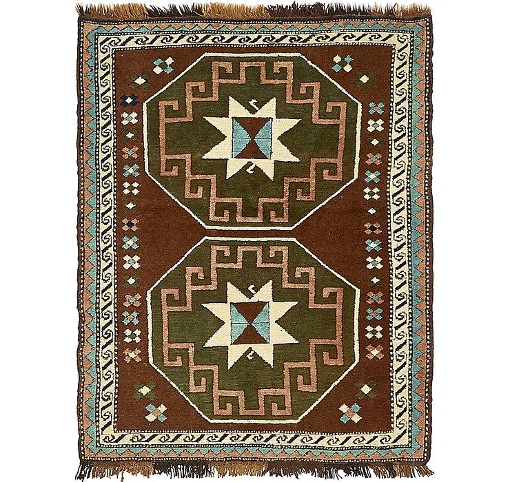3' 5 x 4' 6 Kars Oriental Rug
