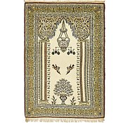 Link to 3' 6 x 5' 2 Qom Persian Rug