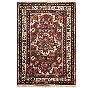 Link to 3' 5 x 4' 9 Hossainabad Persian Rug