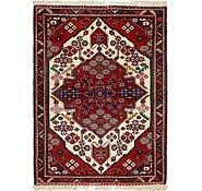 Link to 112cm x 152cm Ghoochan Persian Rug