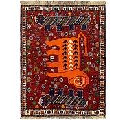 Link to 3' 7 x 5' Ghashghaei Persian Rug