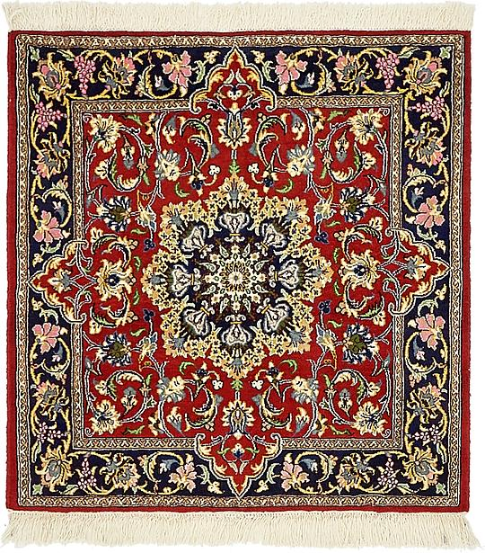 Free Red U X U Qom Persian Square Rug Persian Rugs Esalerugs With Square  Rugs 3x3