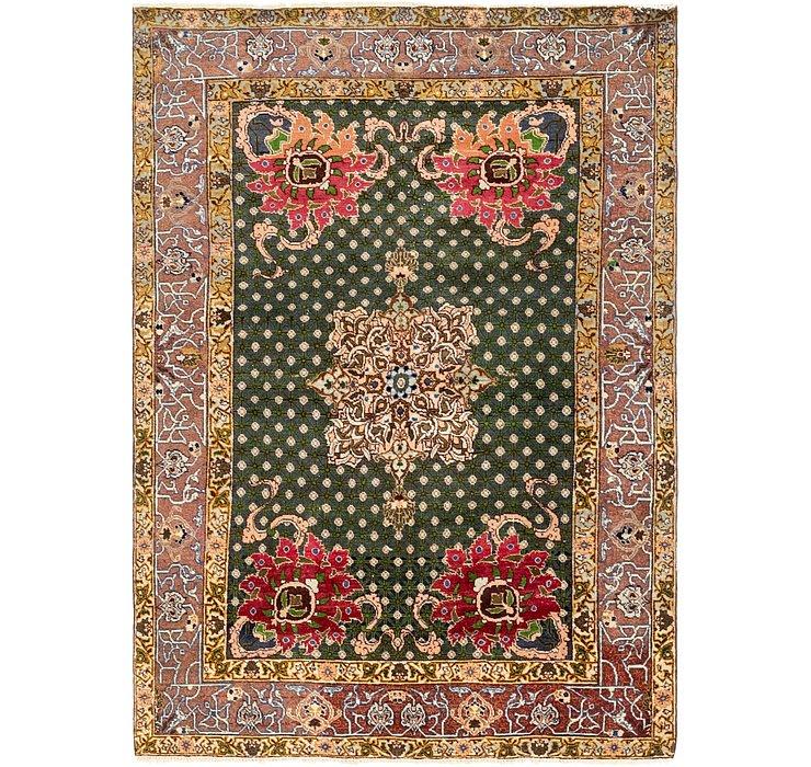 4' 3 x 6' Tabriz Persian Rug