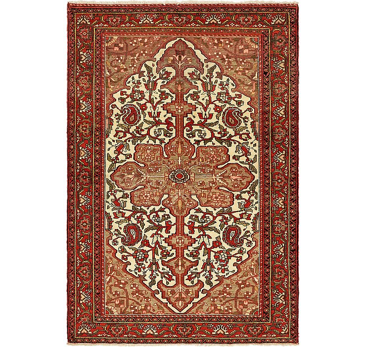 4' 9 x 6' 10 Malayer Persian Rug