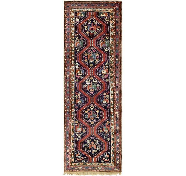 4' x 12' 5 Shiraz Persian Runner Rug