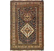 Link to 3' 5 x 5' 2 Yalameh Persian Rug