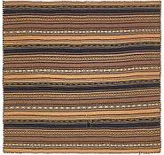 Link to 4' 8 x 4' 10 Kilim Fars Square Rug