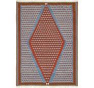 Link to 6' 5 x 9' Kilim Fars Rug