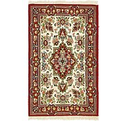 Link to 2' 8 x 4' 4 Qom Persian Rug