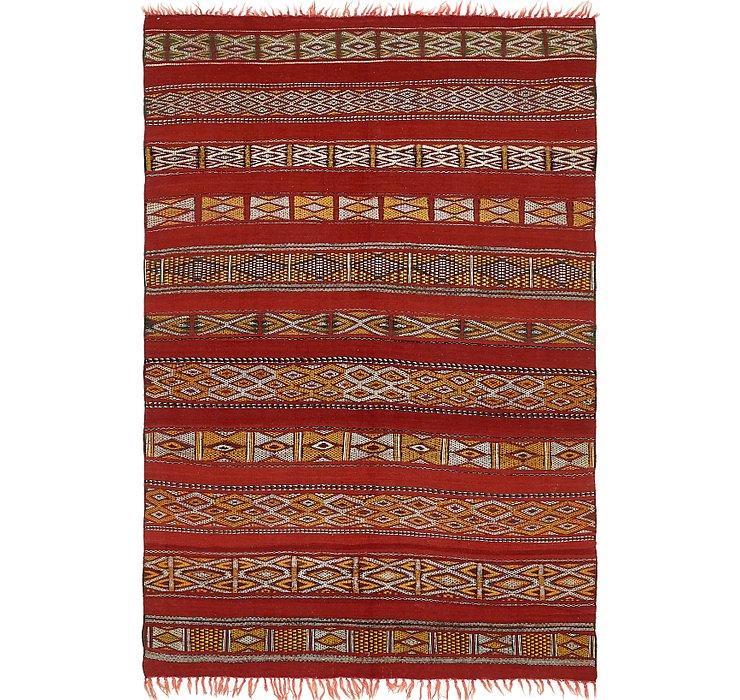 5' 5 x 8' 8 Moroccan Rug