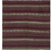 Link to 4' 6 x 6' 6 Kilim Fars Rug