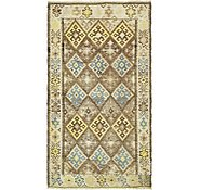 Link to 4' x 7' 3 Kilim Fars Runner Rug