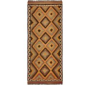 Link to 4' 8 x 11' Kilim Fars Runner Rug