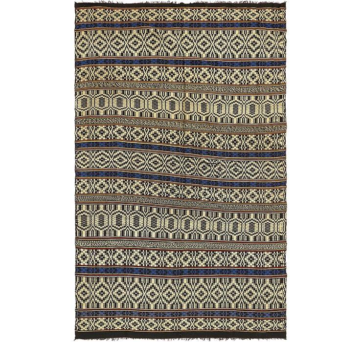5' 5 x 9' Moroccan Rug