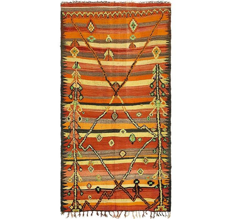 4' 7 x 9' 3 Moroccan Rug