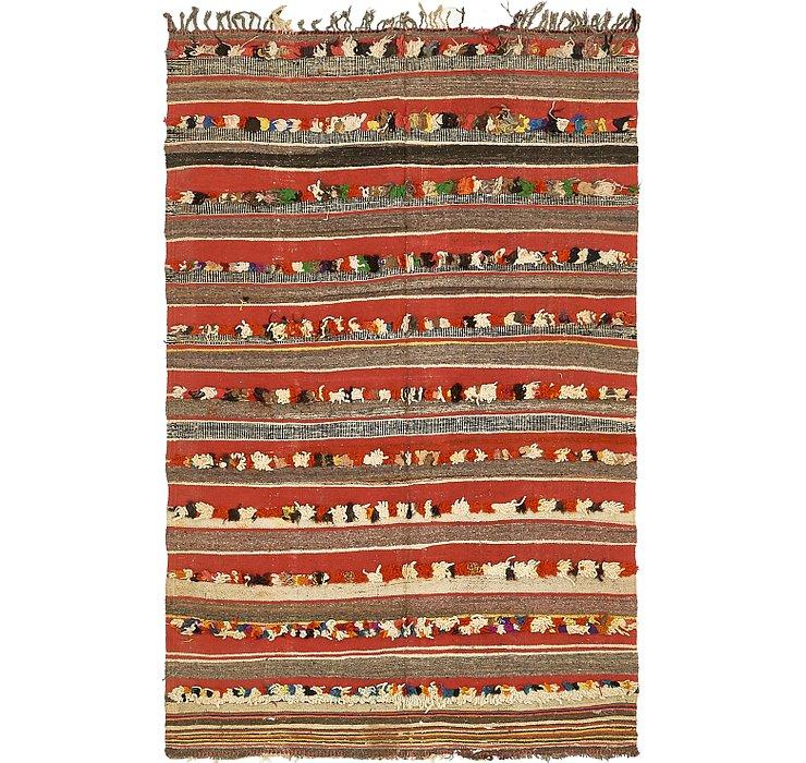 4' 6 x 7' 5 Moroccan Rug