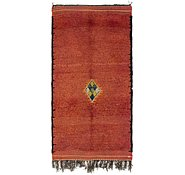 Link to 3' 7 x 7' Moroccan Runner Rug