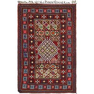 Unique Loom 5' 5 x 8' 2 Moroccan Rug