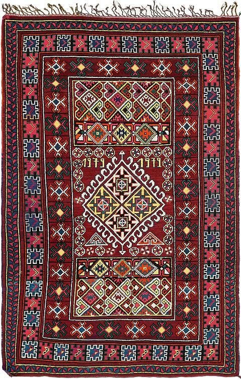 Red 5 5 X 8 2 Moroccan Rug Oriental Rugs Esalerugs