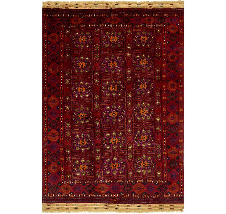 HandKnotted 7' 2 x 10' 8 Torkaman Oriental Rug