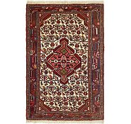 Link to 2' 8 x 4' 3 Mazlaghan Persian Rug