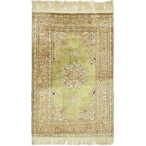 Unique Loom 2' 5 x 4' Hereke Oriental Rug