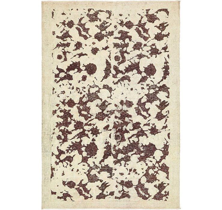 4' 10 x 7' 4 Ultra Vintage Persian Rug