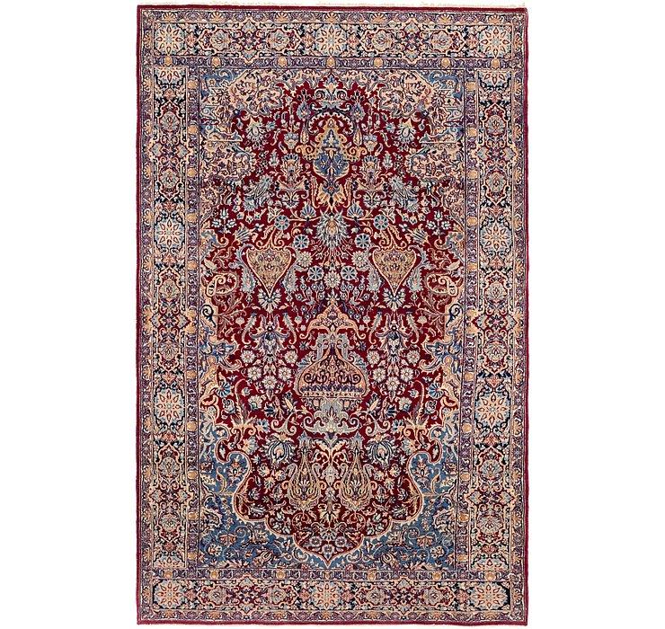 140cm x 225cm Kerman Persian Rug