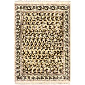 4' 10 x 7' Kashan Persian Rug