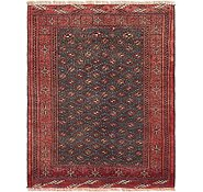 Link to 3' 5 x 4' 3 Torkaman Persian Rug