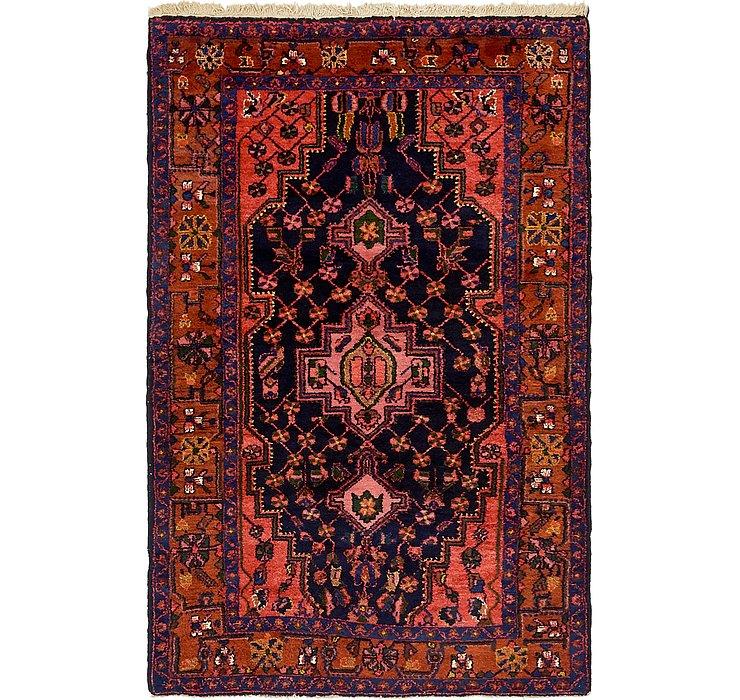4' 5 x 6' 10 Hamedan Persian Rug