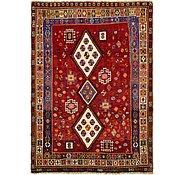 Link to 4' 4 x 6' 2 Ghashghaei Persian Rug