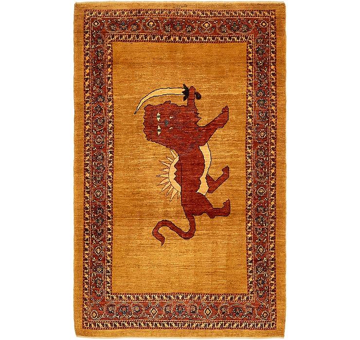 3' 10 x 6' 5 Ghashghaei Persian Rug