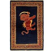 Link to 112cm x 173cm Ghashghaei Persian Rug