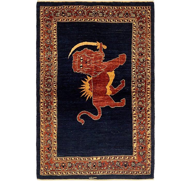 3' 8 x 5' 8 Ghashghaei Persian Rug