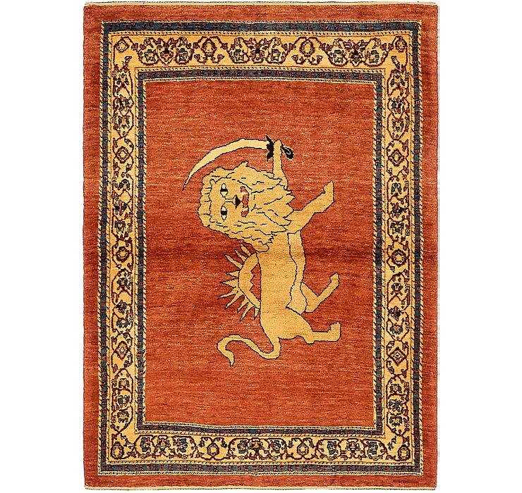 3' 10 x 5' 4 Ghashghaei Persian Rug