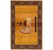 Link to 3' 4 x 5' 3 Ghashghaei Persian Rug