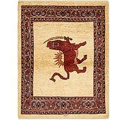 Link to 3' 10 x 5' Ghashghaei Persian Rug