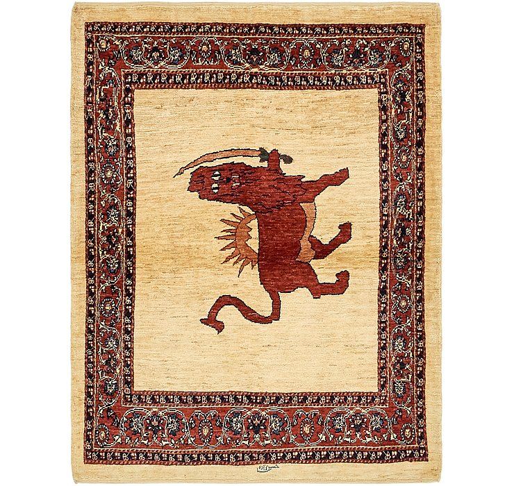 117cm x 152cm Ghashghaei Persian Rug