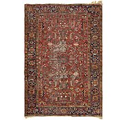 Link to 6' 10 x 10' Heriz Persian Rug