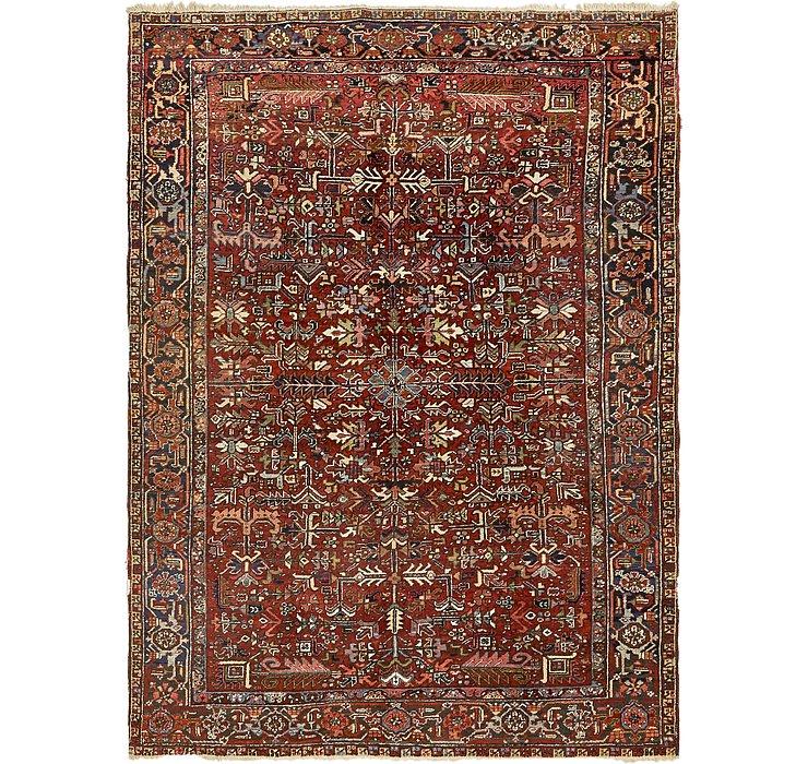 HandKnotted 7' 4 x 10' Heriz Persian Rug