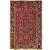 Link to 7' 7 x 11' Heriz Persian Rug